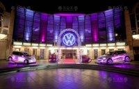 Светящийся логотип Volkswagen