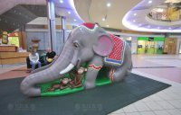 Детская горка Слон
