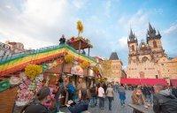 Украшение пасхальных рынков, Прага Staroměstské náměstí
