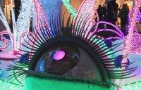 Сюрреалистический глаз – линза, меняющая цвет - 90*100 см